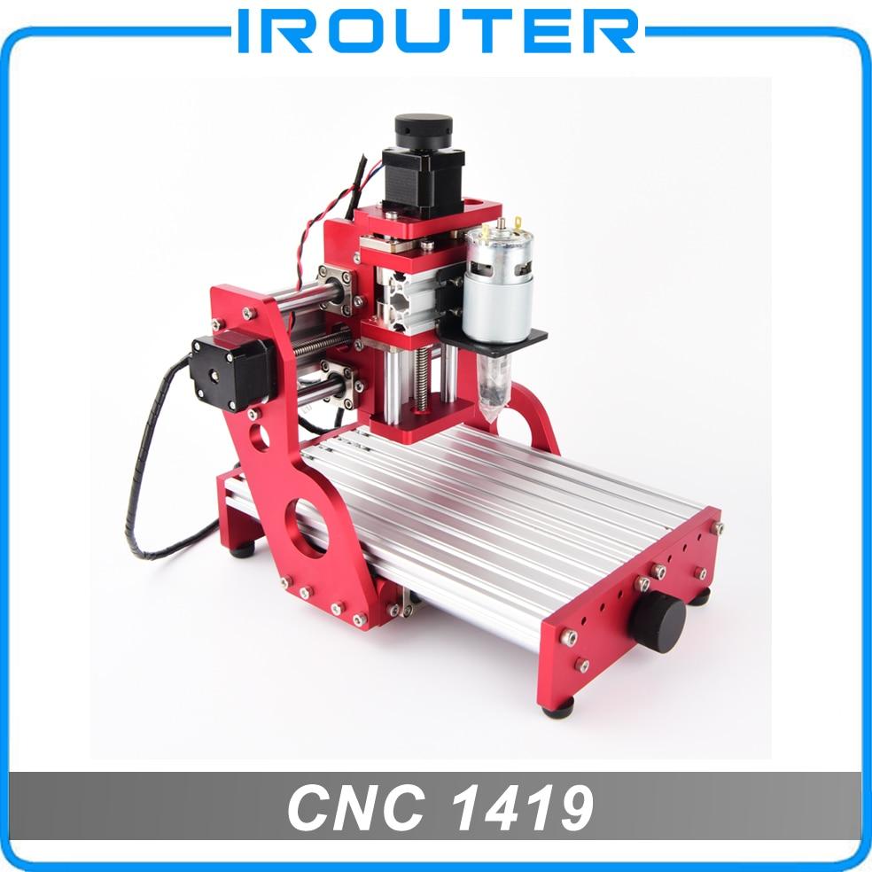 MACHINE de CNC de BENBOX, CNC 1419, découpeuse de gravure en métal, machine de découpage de carte pcb de pvc en bois de cuivre en aluminium, routeur de CNC