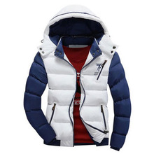 2017 4XL Jacket Men's Parkas Thick Hooded Coats Men Thermal Warm Casual Jackets Male Outerwear Brand Clothing SA076