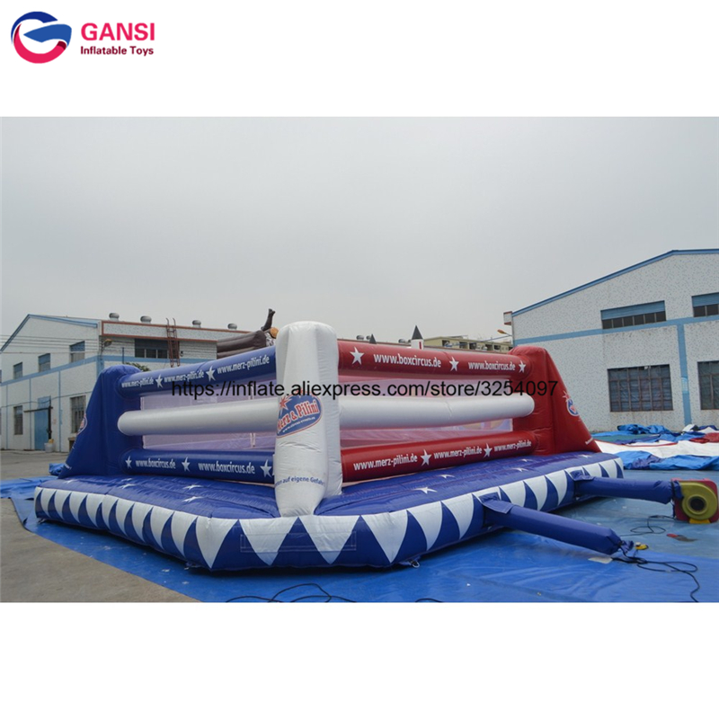 Crazy sport game inflatable boxing wresting ring for sale playground high quality inflatable boxing ring inflatable
