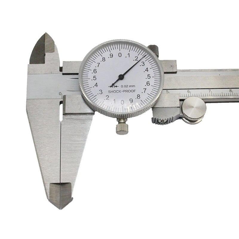 outil de mesure m/étrique avec jauge Pied /à coulisse 0-150mm//0.02mm mm//inch Vernier Pied /à coulisse Microm/ètre de pr/écision pour jauge m/étrique