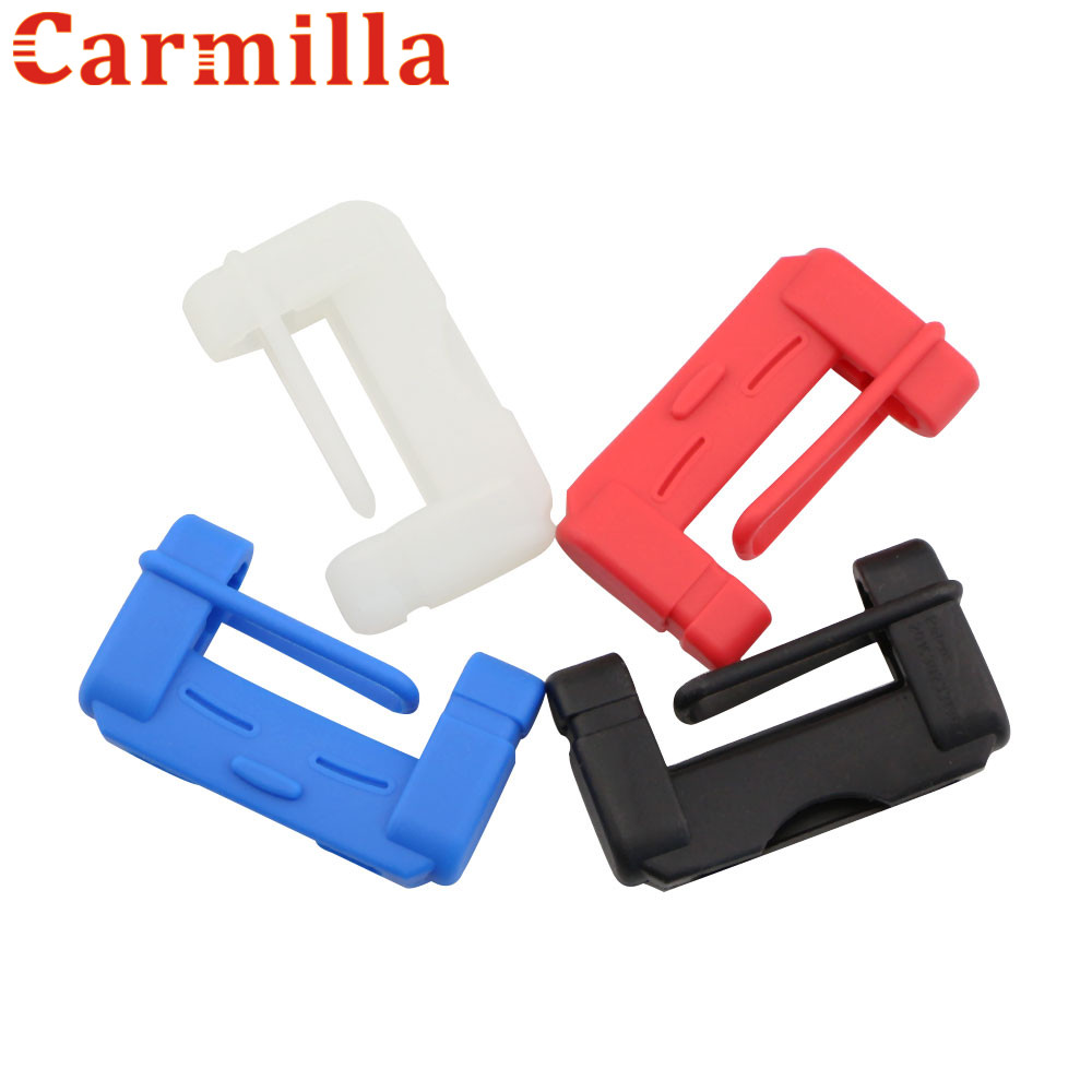 Carmilla Car Safety Belt Buckle Cover for Chevrolet Cruze Trax Malibu Equinox for Toyota Corolla Camry Highlander for Kia Seat