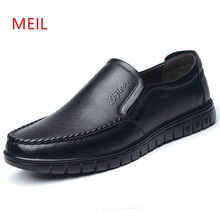 2018 Summer Men Leather Shoes Brand Men Casual Breathable Driving Shoes Mens Loafers Leather Boat Shoes Chaussure Homme cangma luxury brand mens designer shoes elegant genuine leather superstar men casual white handmade shoes chaussure homme 2017