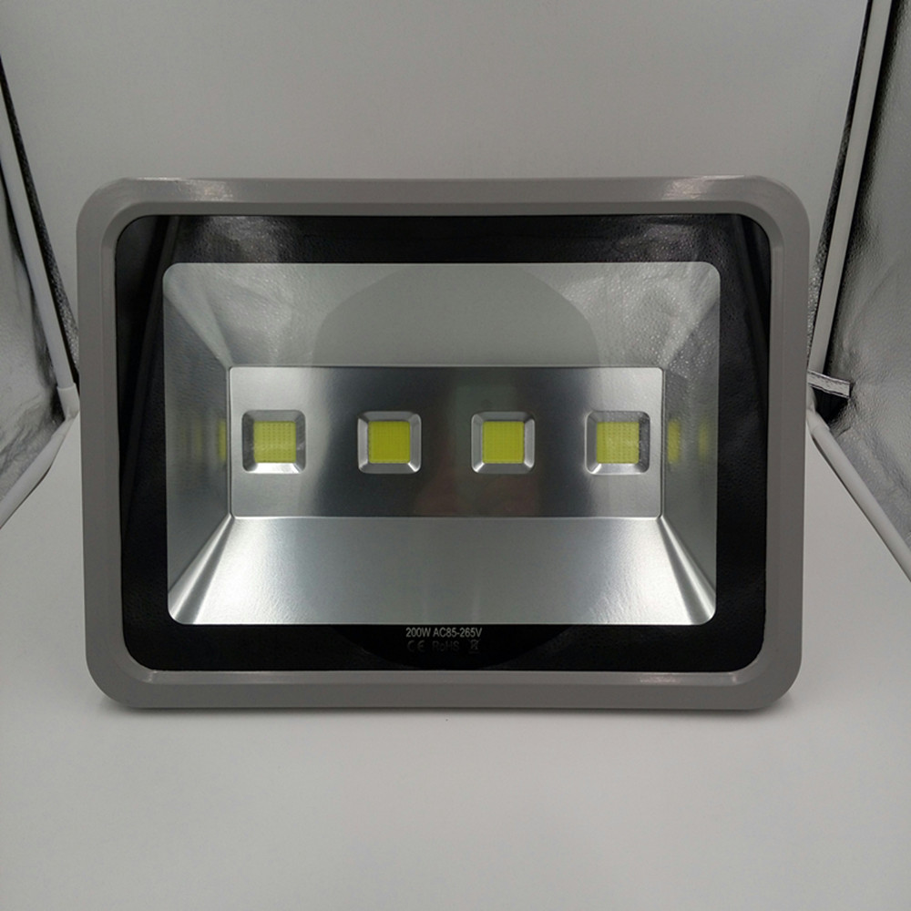 110 220V ultrathin LED floodlight waterproof IP65 outdoor lighting Exterior wall lighting flood light Cast light 200W ultrathin led flood light 200w ac85 265v waterproof ip65 floodlight spotlight outdoor lighting free shipping