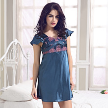 Very Sexy Sleepwear Ladies Nightgown Dress Underwear Sleepshirts Free Shipping High Quality Lingeries