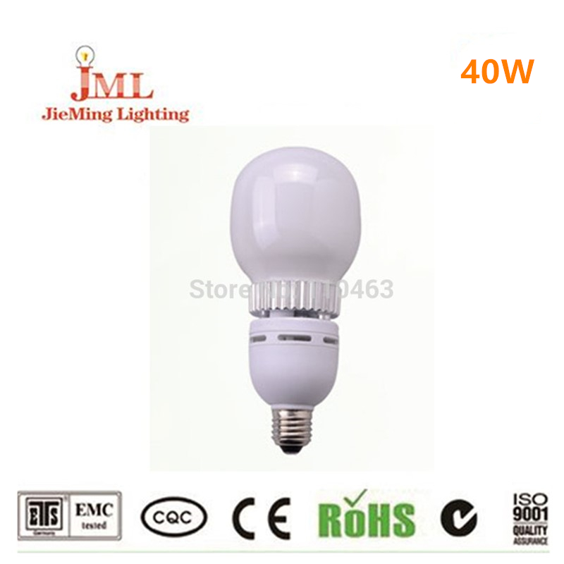 ФОТО Free shipping hot sales!! 40w grobal bulb lights 2800lm replace 60W/80w fluorescent lamp china energy saving lamp indoor