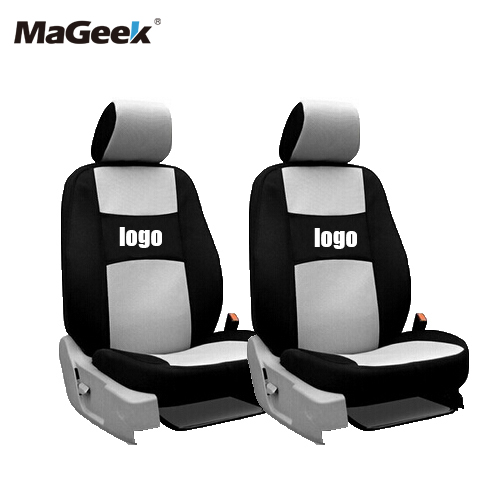 2 asientos delanteros Fundas de asientos de automóvil universales - Accesorios de interior de coche