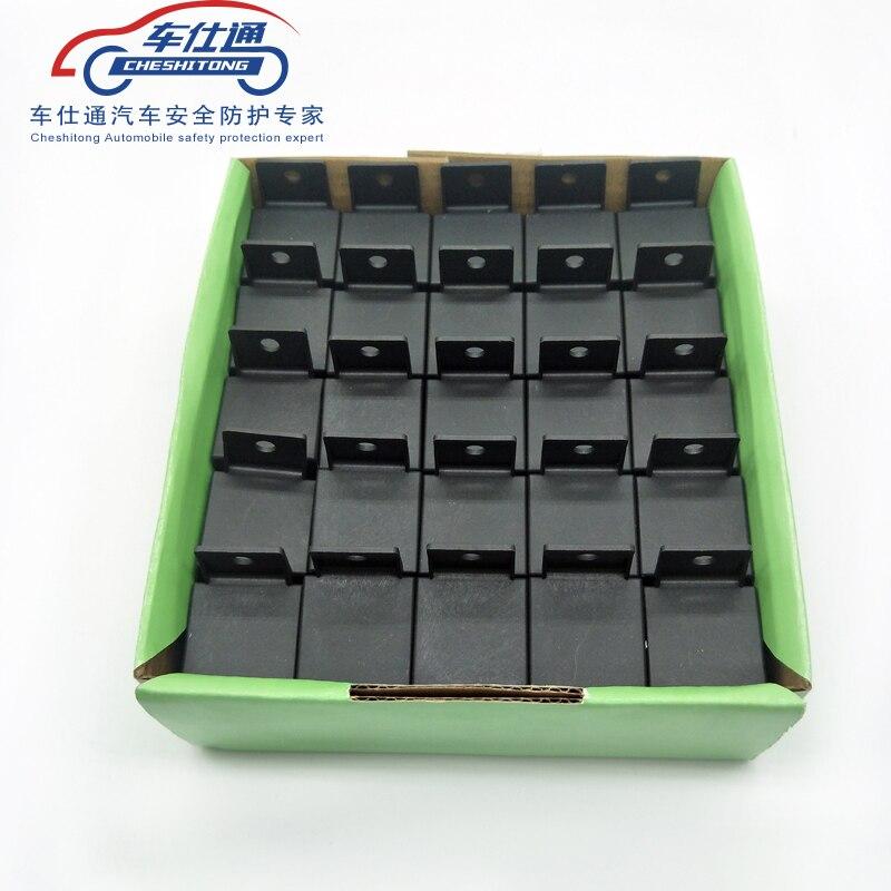 25 PCS/lot voiture Auto relais prise 4 fils 12 V 30/40 A Amp 4 broches 4 P automobile harnais