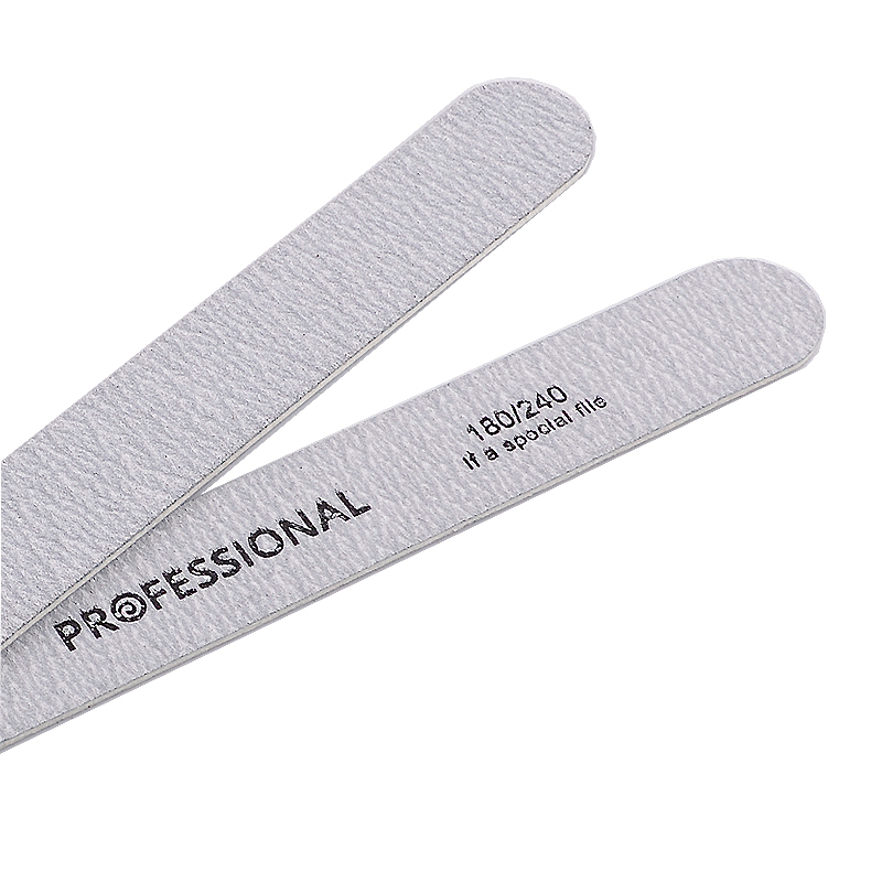 Image 5 - 10pcs/lot Sandpaper Nail File for gel nails 180/240 Professional Manicure Buffer Pedicure Double sided set de limas Nail Tools-in Nail Files & Buffers from Beauty & Health