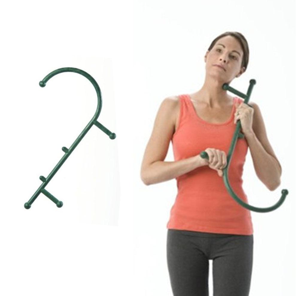 цены  Thera Cane Back Hook Massager Neck Self Muscle Pressure Stick Tool Manuel Trigger Point original point massage rod