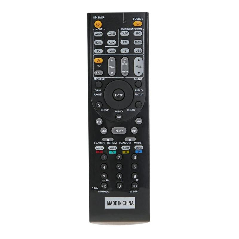 Remote Control TV Control Use RC-799M Replacement for ONKYO TX-NR616 TX-NR626 AV Receiver Remote Control new replacement for sony rm aau013 av receiver remote control for ht ddw685 ht ddw790 e15 strdg500 strdh100 strdh500