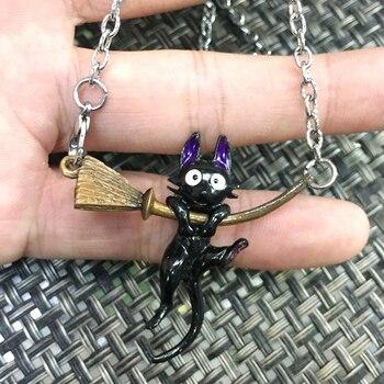 Кулон кот зизи аниме Ведьмина служба доставки