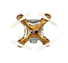 CX-10WD-TX MINI FPV Drone 2.4G 4CH 6Axis Gold Remote Control Aircraft gift Mother's Day