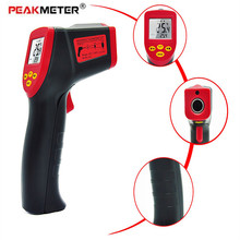 Wireless Digital Infrared Thermometer Non contact IR Laser Temperature Gun Device PEAKMETER SensorTemperature Measurement Device