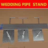 New arrival popular 3*6m (10ftx20ft) wedding pipes stand for wedding backdrop decoration