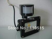 Free Shipping 10W 20W 30WNew PIR Motion Sensor LED Flood Light Induction Sense Lamp FloodLight 85