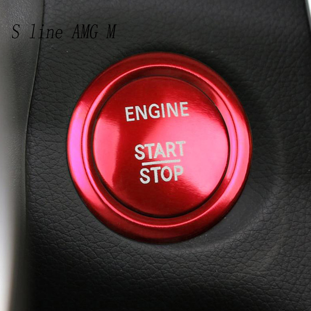 Mercedes Benz Glc Class X205 Amg Line 2015 3d Model: Car Styling ENGINE START STOP Switch Off Buttons Cover