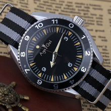 New Men's Luxury Brand Automatic Self Wind Mechanical Stainless Steel Fabric Can