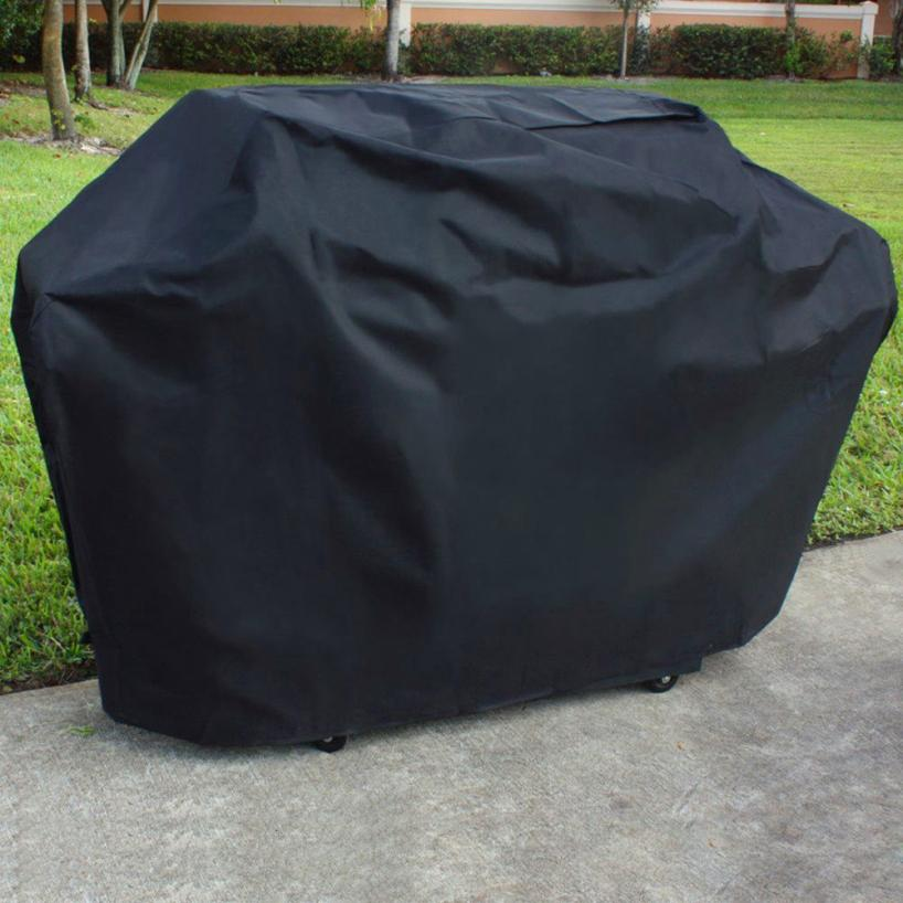 2018 top Kitchen artifact BBQ Electic Grill Cover Garden Proof Barbecue Protection Shield Black Barbeque Grill 0418