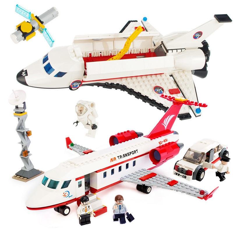 GUDI Spaceport Ruang Seri Shuttle Blok Bangunan Batu Bata Kompatibel - Mainan bangunan dan konstruksi - Foto 4