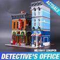 Lepin 15011 Oficina del Creador de la Serie de La Detective Conjunto Vengadores Conjunto Ensamblar Bloques de Construcción de Juguetes 10197