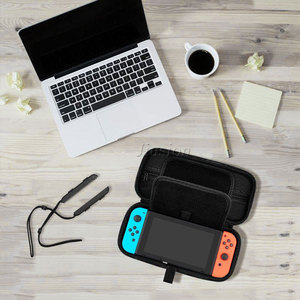 Image 5 - Nylon EVA Hard Shell For Nintend Switch Case Portable Cover Bag Waterproof Funda Switch For Nintendoswitch Console Accessories