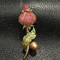 Barroco Natural pérola de água doce flor broche pinos multicolor irregular moda feminina jóias frete grátis