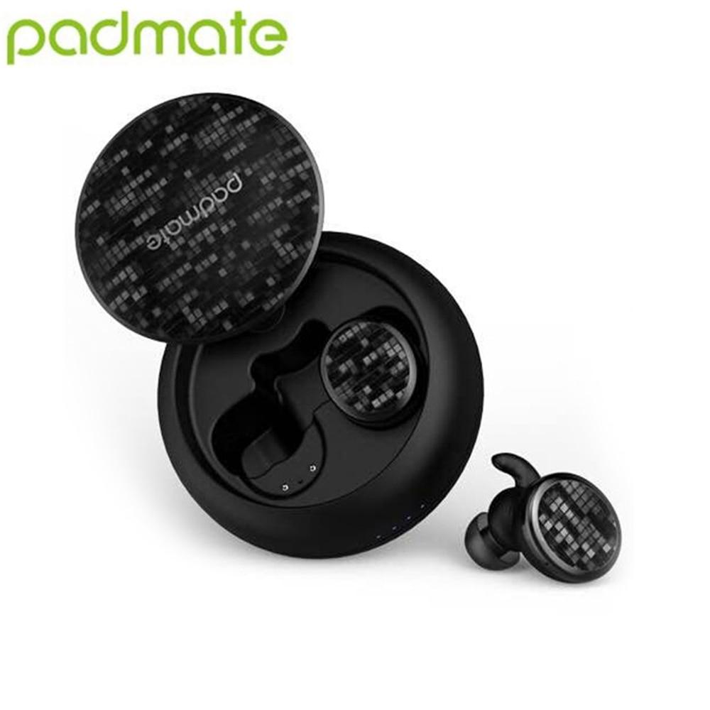 2019 Padmate Pamu X13 TWS sans fil Bluetooth 5.0 écouteurs sport dans l'oreille écouteurs IPX5 étui de charge étanche pour Smartphone