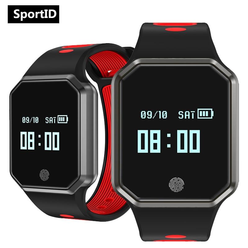 New Smart Watch Men Fitness Tracker Wrist Watches Women QW11 Heart Rate Blood Pressure Oxygen Monitor Pedometer Sleep Wristwatch