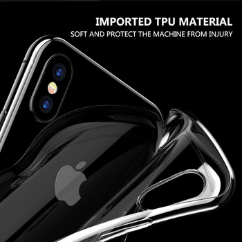 Transparent Soft TPU Card Holder Case for iPhone 11/11 Pro/11 Pro Max 5