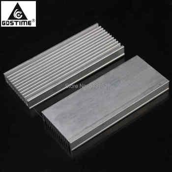 30pcs/lot Aluminum Heatsink Radiator Heat Sink Chip 120x50x12mm for IC LED Power Cooler