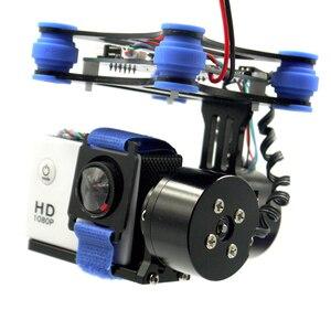 Image 3 - RTF 2 محور فرش كاميرا Gimbal ث/2208 المحركات BGC لوحة تحكم دعم SJ4000 Gopro 3 4 كاميرا ل DJI فانتوم QR X350