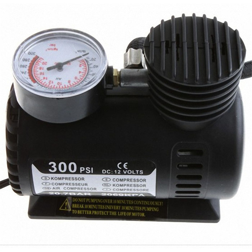 Air pump 12V Car Auto Electric 300PSI Air Compressor Tire Inflator Pump l70323 drop ship