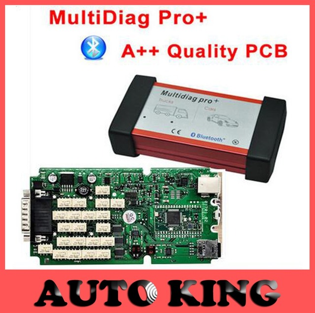 MultiDiag Pro 2015.R1 software quick and reliable diagnostic tool serving as a link between vehicle and computer working on both