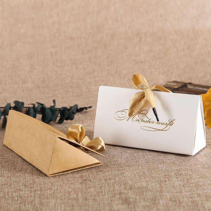 20pcs Kraft Paper Box DIY Lipstick Perfume Cosmetics Packaging Wedding Party Candy Birthday Gift Boxes