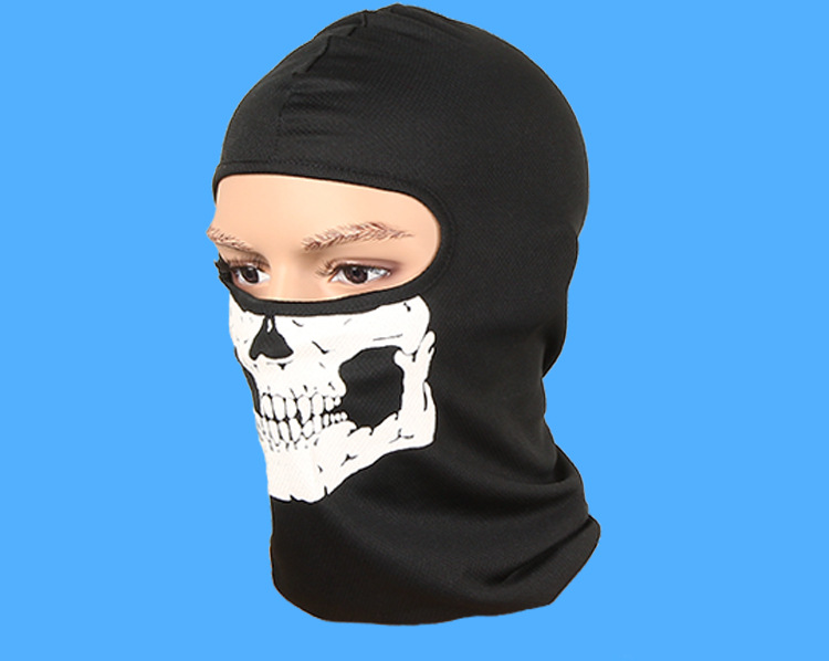 Masks Balaclava face winter Face Ghosts skull Masks animal deadpool Skull Masks for snowboard zombie skull skeleton half face masks for movie prop cosplay halloween airsoft paintball protective masks authorized chief m05