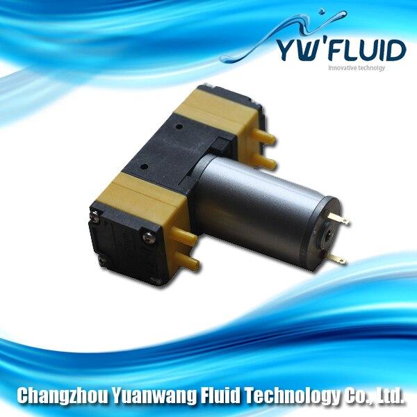 YW05B DC 2412V with PTFE diaphragm long lifespan DC motor mini electric air pump