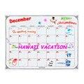 Inteligente del Planificador Mensual Calendario Refrigerador Magnético