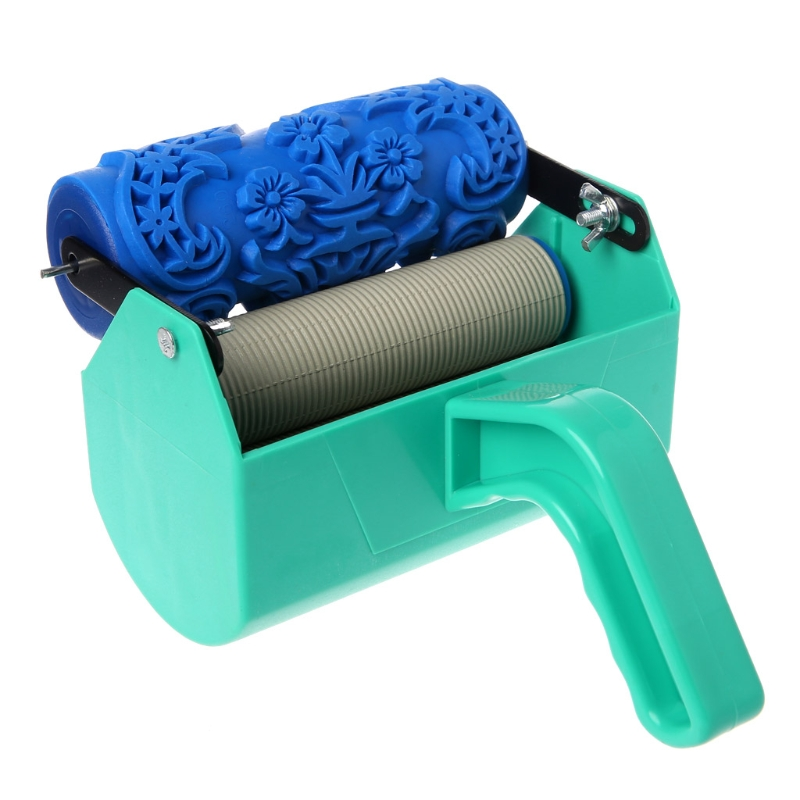 Free delivery Single Color Decoration Paint Painting Machine For 5 Inch Wall Roller Brush Tool Damom diy wall decoration tools 5 inch handle grip applicator plus 5 inch wall pattern painting roller 002y paint tool sets