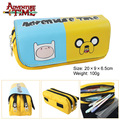 Large capacity bag purse Fenn adventure time old skin bag game double zipper wallet bag