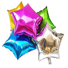 18inch Pentagram Star Shape Helium Foil Balloon Aluminum Balloons Birthday Party Wedding Decoration Supplies Classic(China)