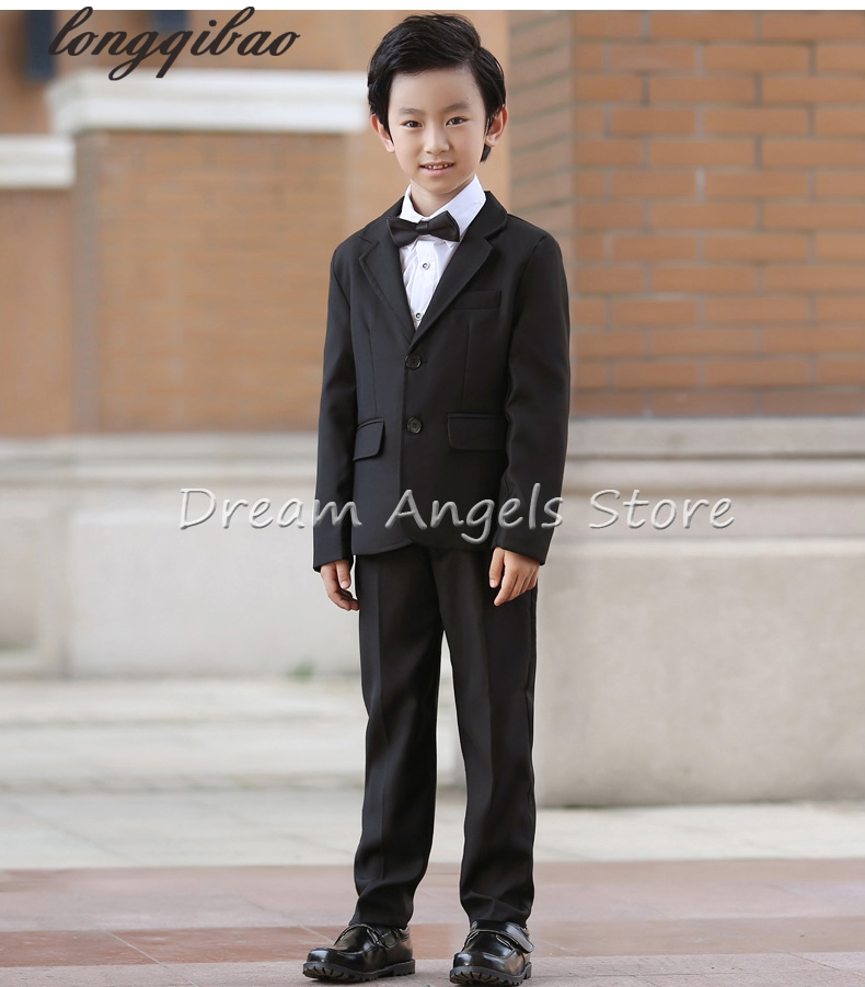 8pcs Top quality new fashion baby boys kids blazers boy suit for weddings prom formal black dress wedding boy suit 09 high quality 2016 new arrival fashion baby boys kids blazers boy suit for weddings prom formal dark blue dress wedding boy suits
