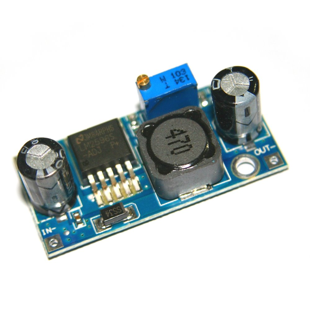 LM2596 DC-DC Buck Converter Step Down Module Power Supply DIP Output 1.25V-30V  3a