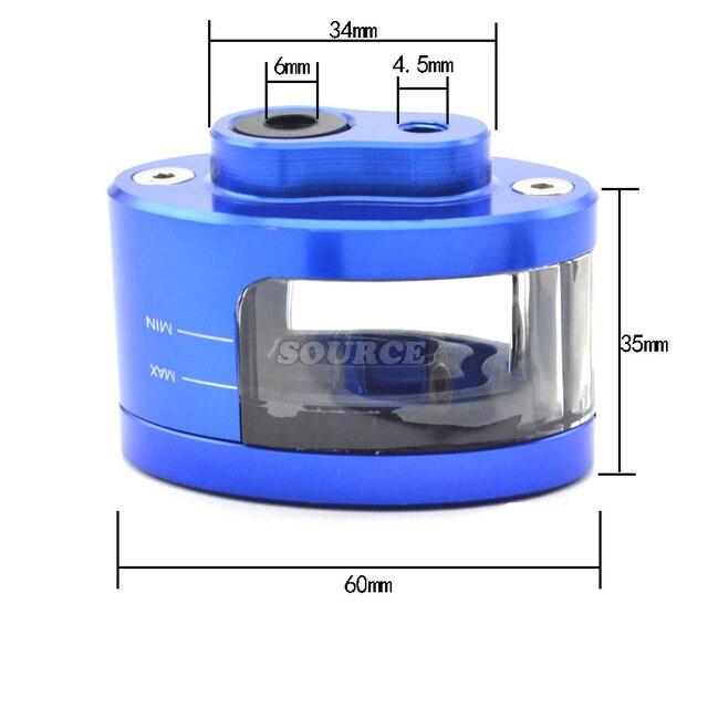 Für Yamaha FZ1 FZ6 MT07 MT09 TMAX 500 530 YZF R1 R3 R6 MT 07 09 Motorrad Vorne Brems Flüssigkeit reservoir Kupplung Tank Öl Flüssigkeit Tasse