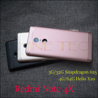 Original New For Xiaomi Redmi Note 4X Rear Back Cover Battery Door Housing Replacement For Redmi