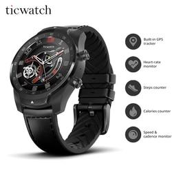 Originale Ticwatch Pro Bluetooth Smart Watch in IP68 Impermeabile supporto NFC Pagamenti/Google Assistente di Usura OS da Google GPS Della Vigilanza