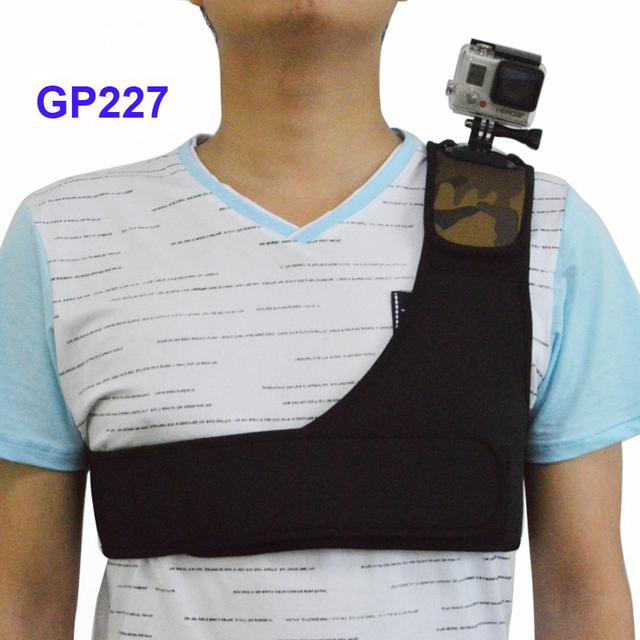 Frete Grátis!! alça de ombro camuflagem alça de ombro único para gopro hero sj4000 sj5000 gitup acessórios da câmera de esportes