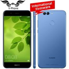 "Internationalen Firmware Huawei Nova Lite Handy 5,2 ""4 GB RAM 64 GB ROM Kirin 658 Octa Core FHD 1920X1080 P 4G LTE Finger Nova"