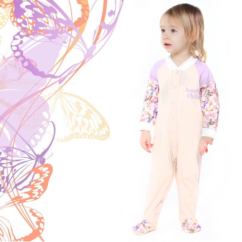 Jumpsuit Lucky Child for girls 26-1 Children's clothes kids Rompers for baby htl 702 adapter for tripod
