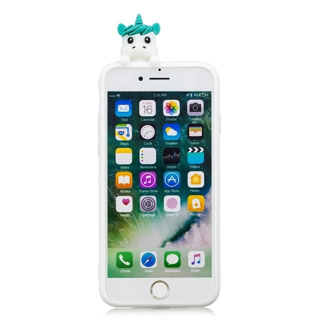 Cute Unicorn Squishy Toy Soft Silicone Phone Case
