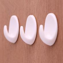 5 шт./лот, самоклеющиеся клейкие для одежды, крюк, настенный держатель для двери, вешалка для полотенец для ванной комнаты, кухонные настенные крючки-вешалки